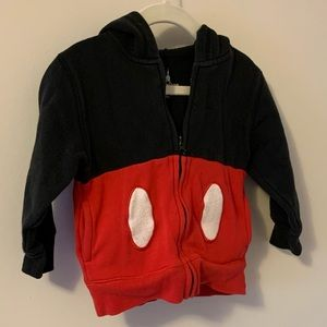 Disney Shirts & Tops - Mickey Mouse by Disney Parks hoodie size XXS/3